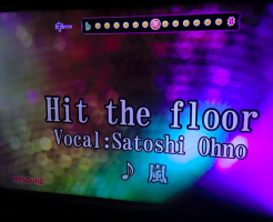 arashi-hit the floor